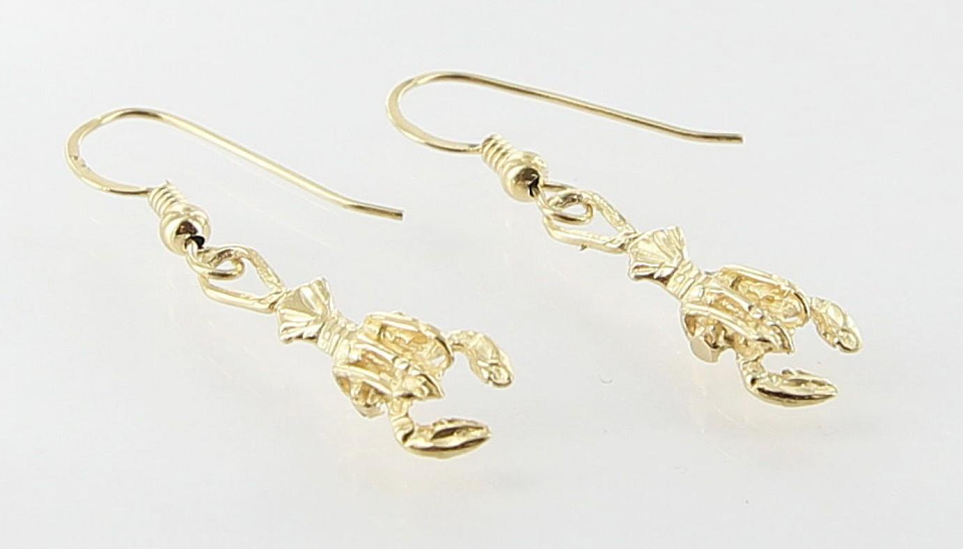 Pair of Ladies Lobster Earrings | Roath's Pawn