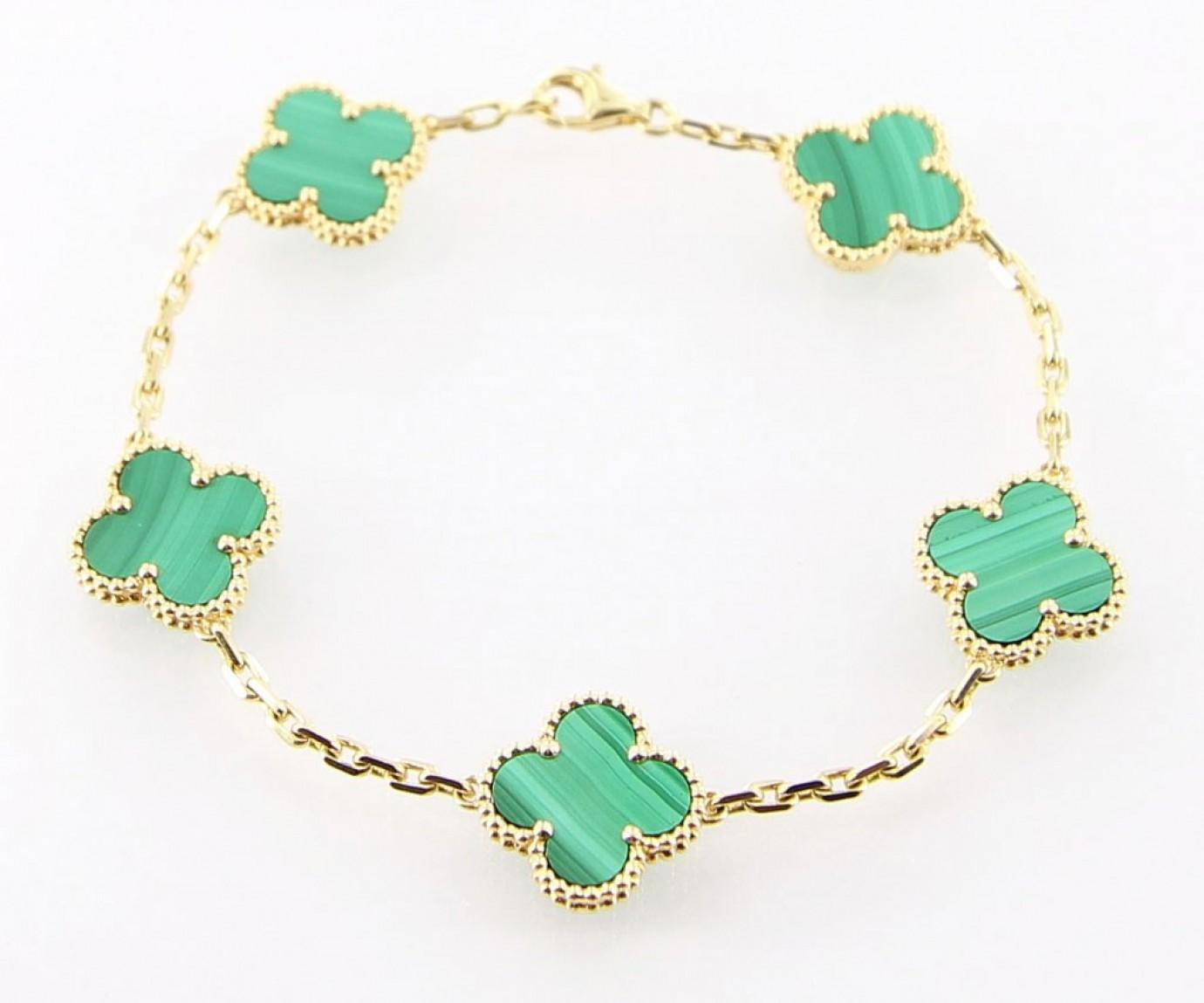 Van Cleef Arpels Alhambra Bracelet Roath S Pawn